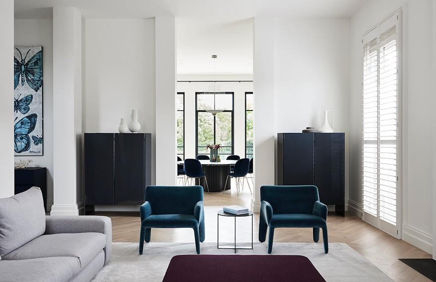 Larritt Evans | Toorak House , 大胆个性的时尚住宅