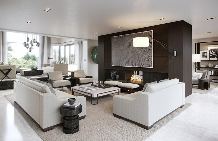 Contemporary Home , 爱尔兰现代私人住宅