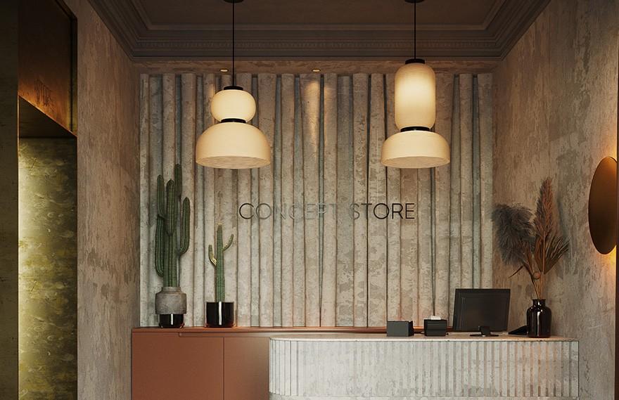 Akhat Baimenov | Almaty Concept Store , 独特简洁的组合空间