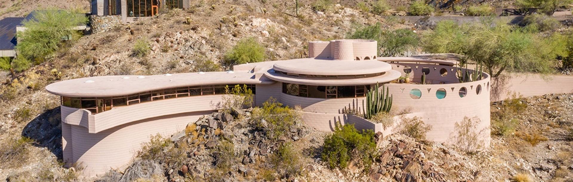 弗兰克·劳埃德·赖特最后设计的住宅将被拍卖