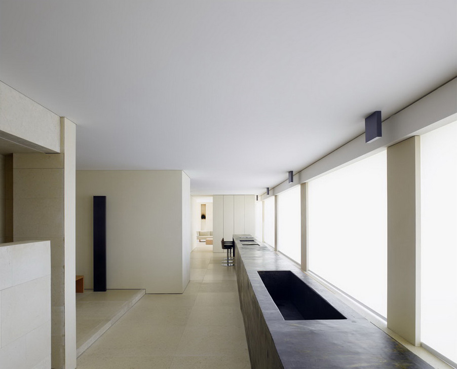 Girombelli Apartment Designed by Claudio Silvestrin