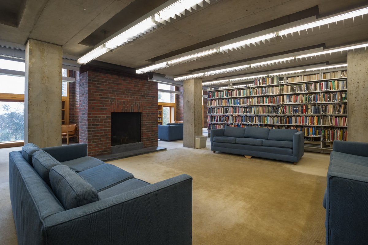 Exeter Library Photo by Xavier de Jaureguiberry Designed By Louis Isadore Kahn