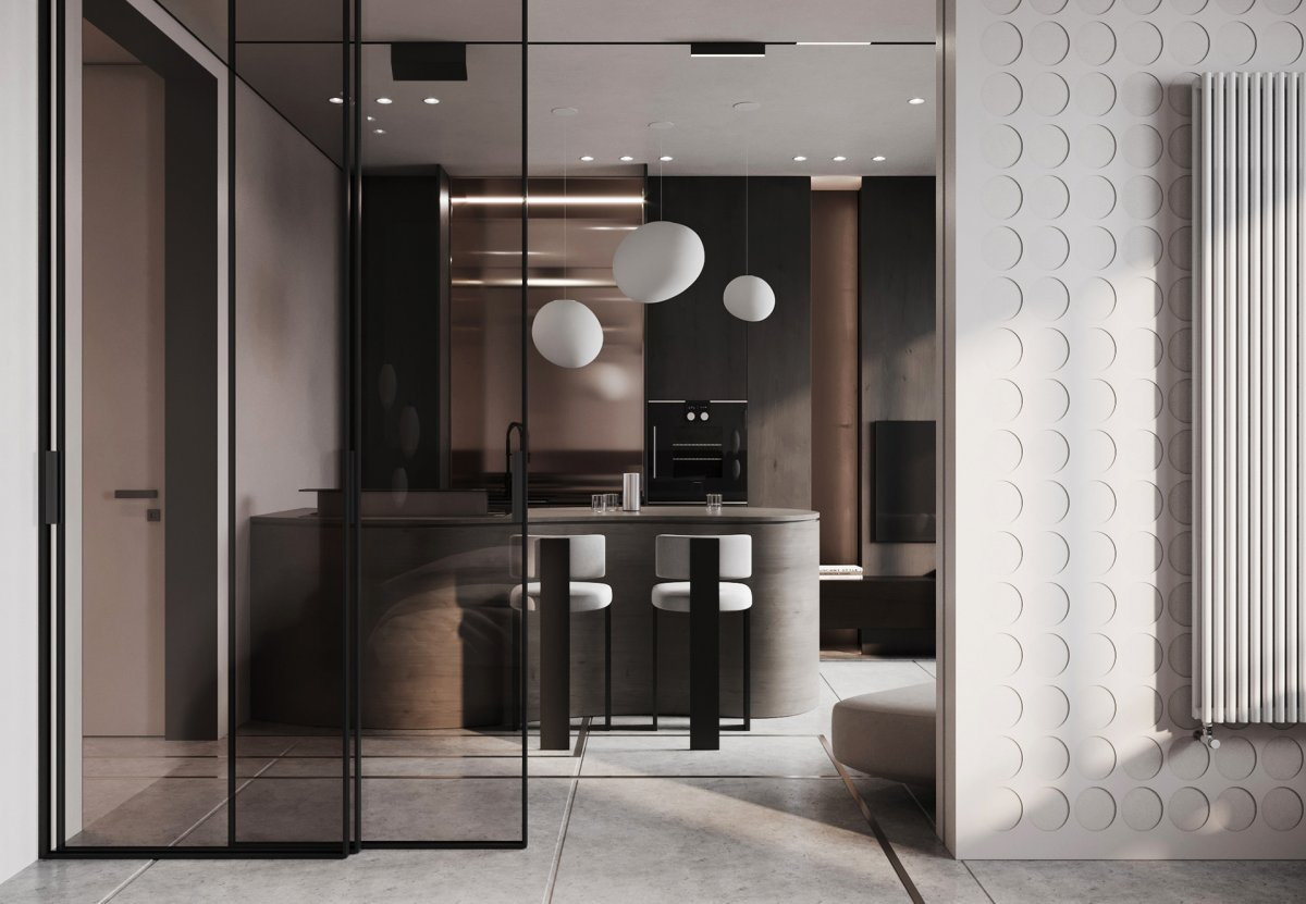 Modern Apartment Designed By Sofina Anastasia