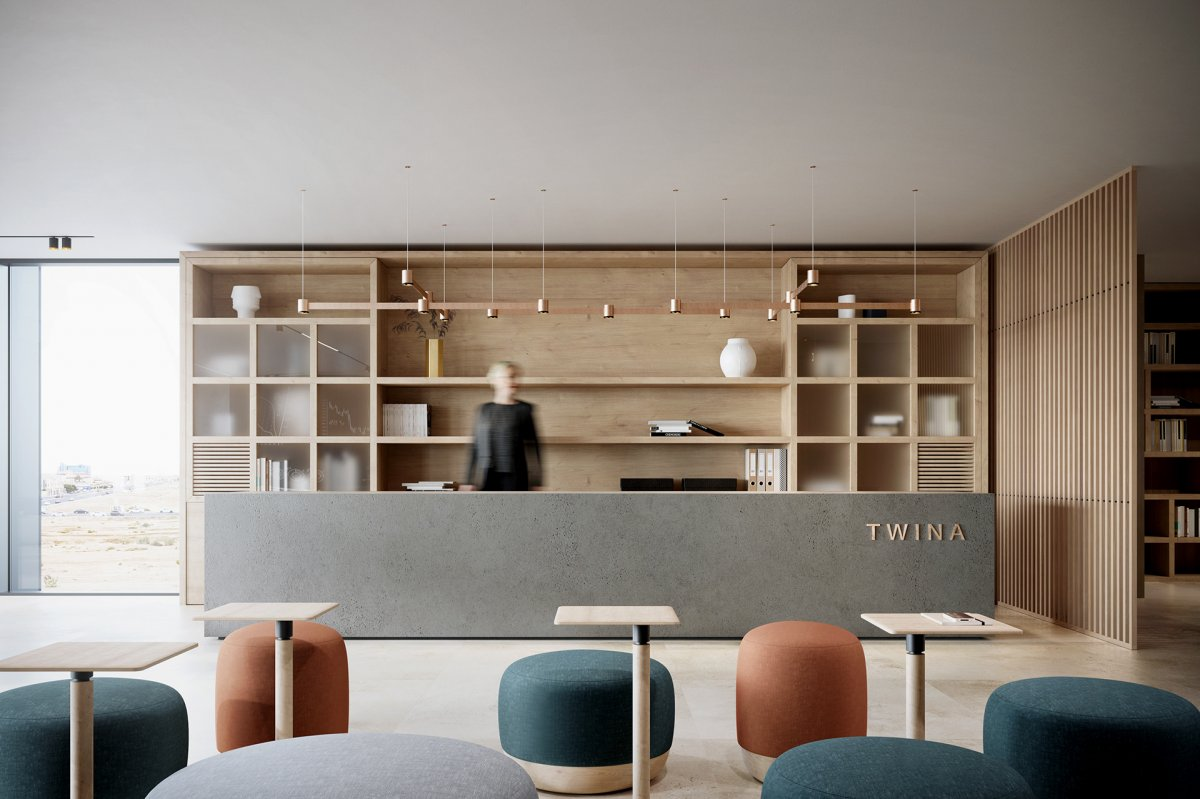 Twina Office Designed By Hani Ashoor