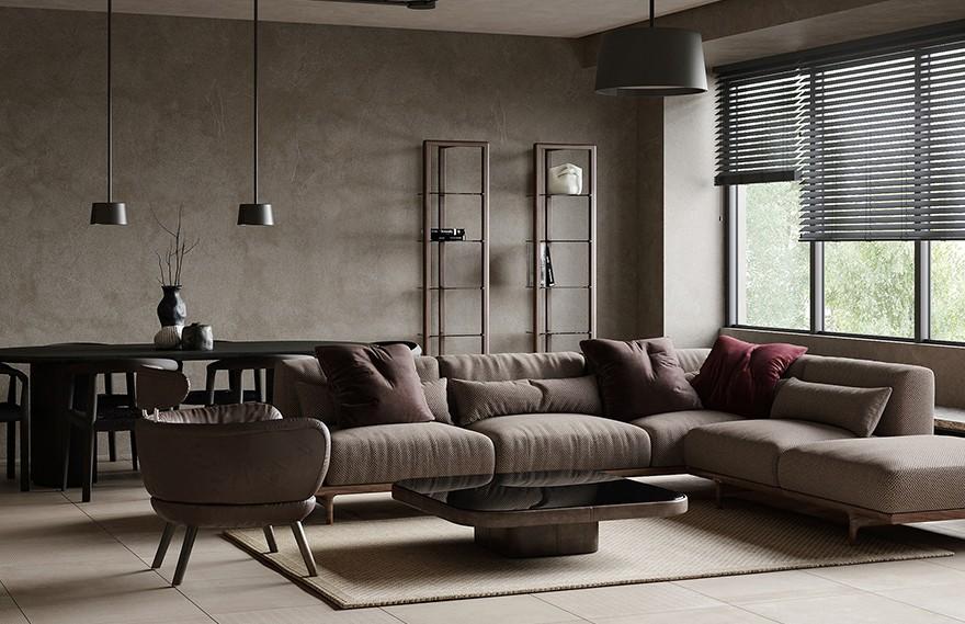 Alexandra Kostyuchkova | Living Room