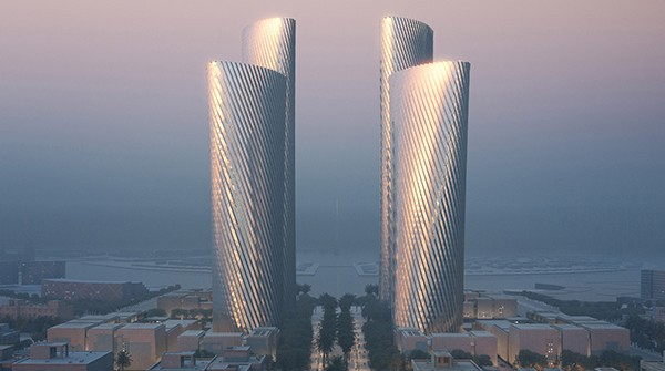 Foster + Partners   Lusail Towers