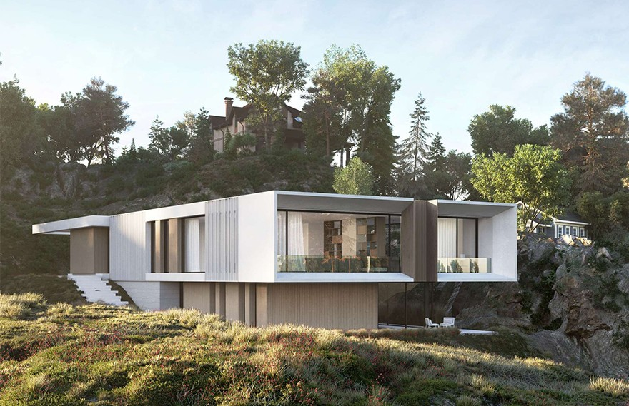 Artem Babayants   Dom V Norvegii , 挪威极简主义建筑