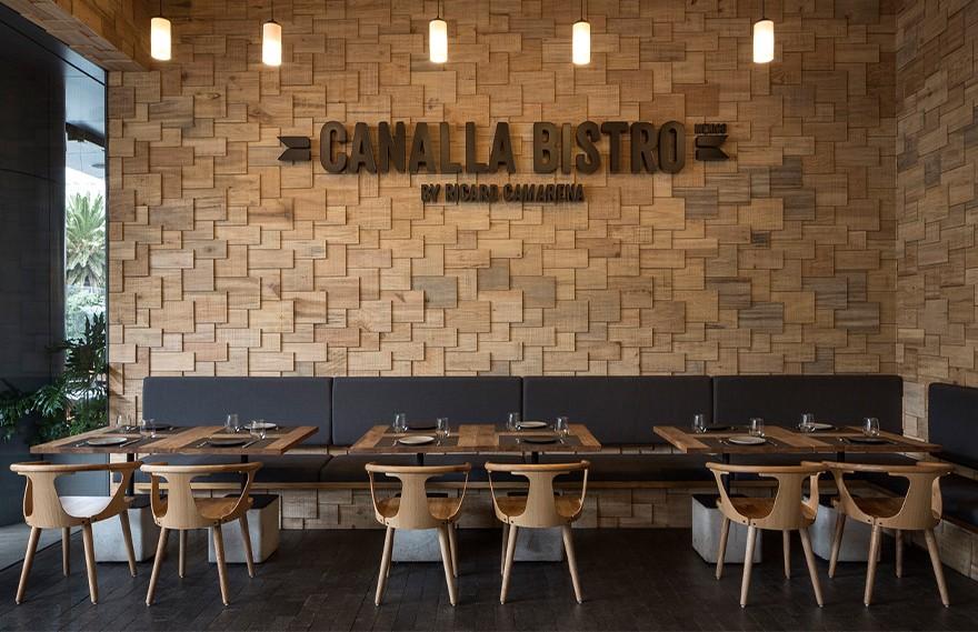 Canalla Bistromx,Industrial  Style Restaurant