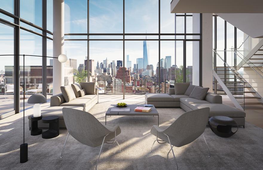 Renzo Piano   565 Broome SoHo Penthouse