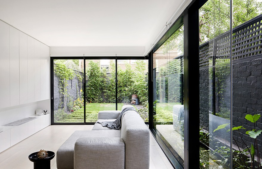 Winter Architecture | South Yarra Townhouse