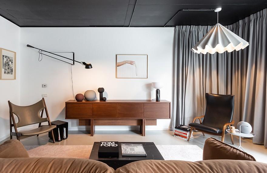 Bogdan Ciocodeica | Apartment AA , 独特复古的轻奢住宅