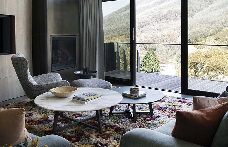 Briony Fitzgerald | Thredbo Penthouse , 舒适与高雅之间的平衡