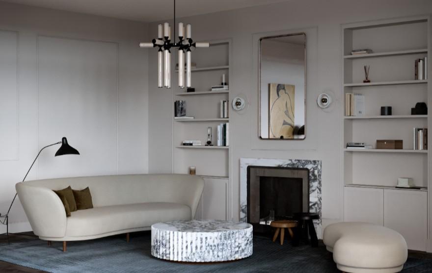 Katarina Rulinskaya | Warsaw Paris , 巴黎质朴气息住宅