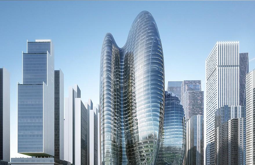 Zaha Hadid | OPPO深圳总部 , 光线充足的开放式办公室