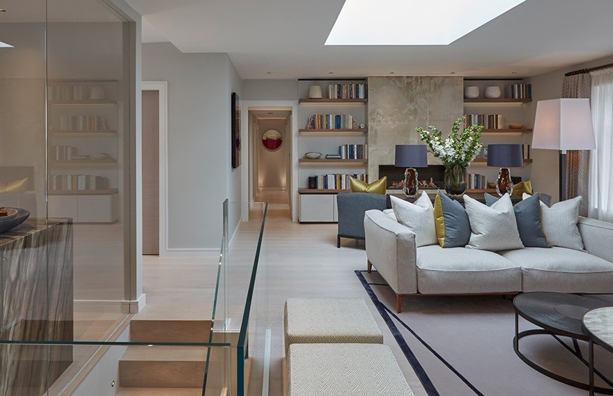 Notting Hill Penthouse,London's Eclectic Style