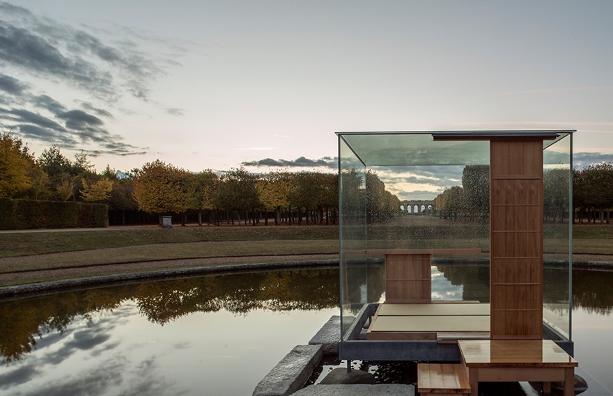NMRL | Glass Tea House Mondrian Versailles