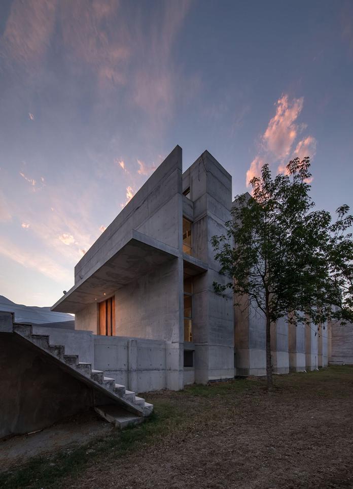 WRKSHP Arquitectura | Fuego Nuevo Chapel