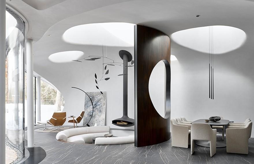 Stanislav Nikolaev | Shall Residence , 莫斯科未来主义建筑