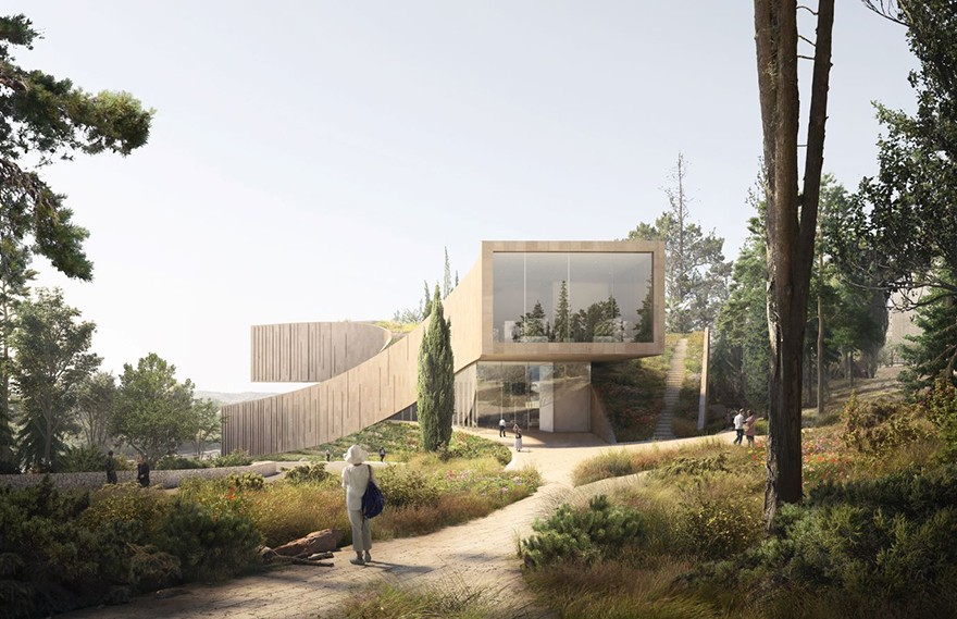 ODA Designs | New Academy of the Hebrew Language HQ