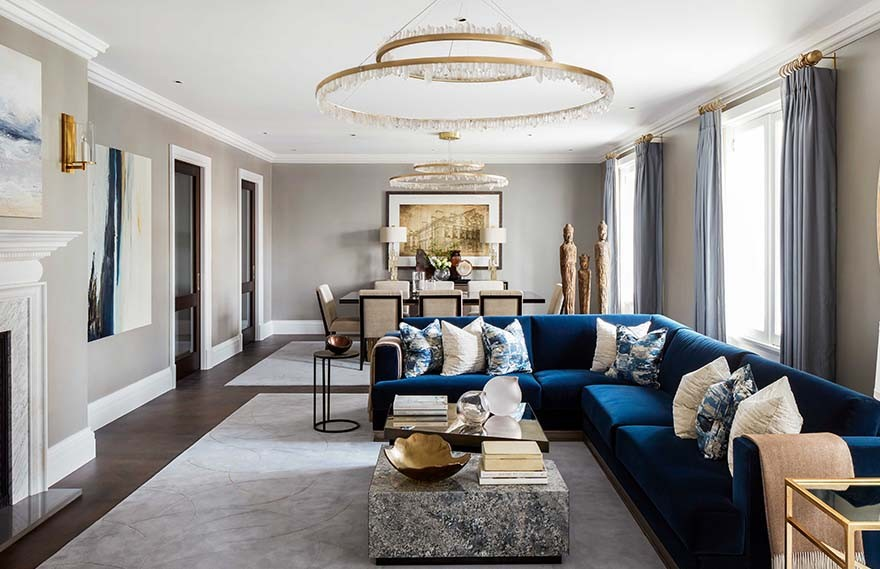 Katharine Pooley | 88 St James , 优雅时尚的宫殿住宅