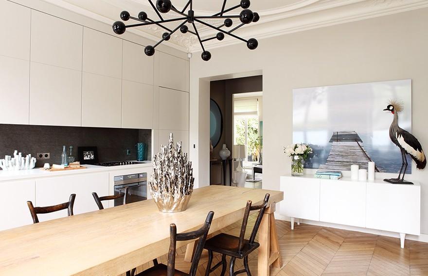 Damien Langlois-Meurinne | Defi Reussi , 设计师自己的优雅公寓