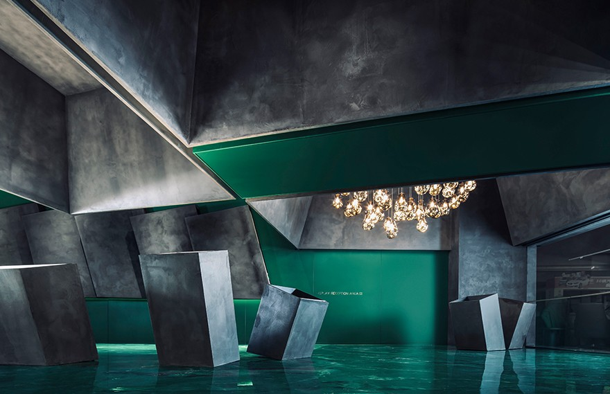 崔树 | 中山绿豹灯具展厅