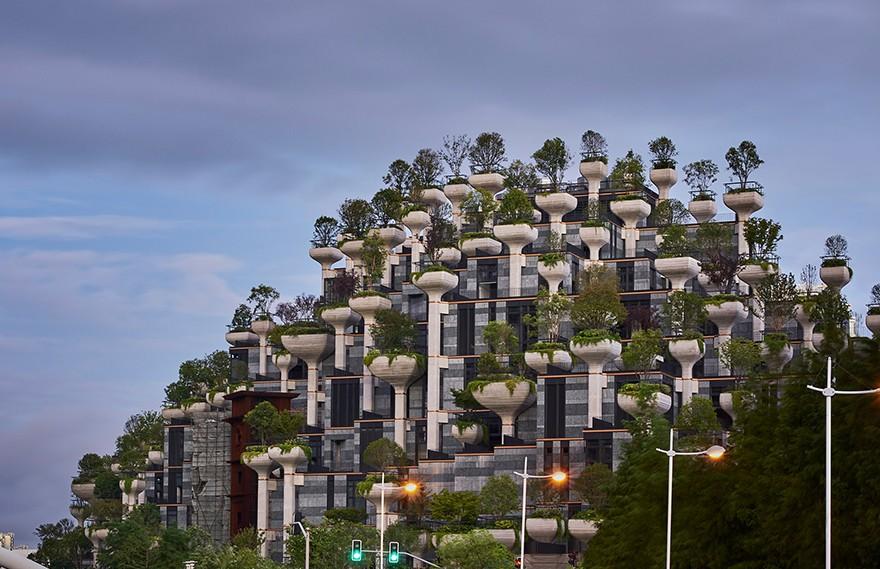 Thomas Heatherwick   1000 Trees Shanghai