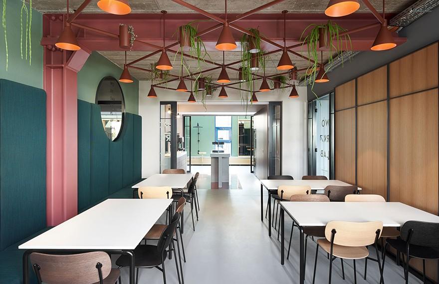 Studio Komo | Urban Spaces , 色彩丰富的设计理念