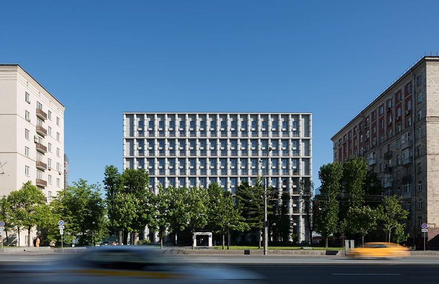 Tsimailo Lyashenko and Partners | Kutuzovskiy XII Residential Building