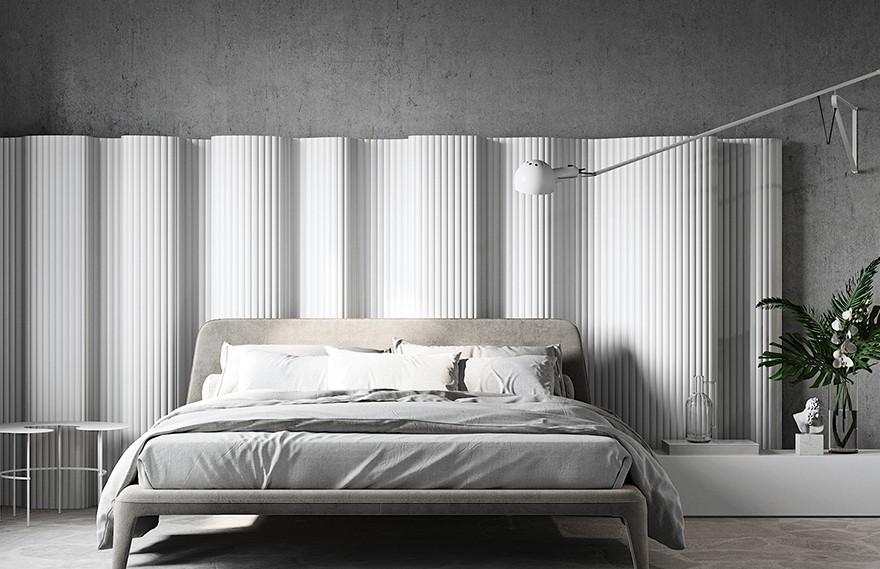 Oleg Trofimov | Vertical White , 极简主义现代住宅