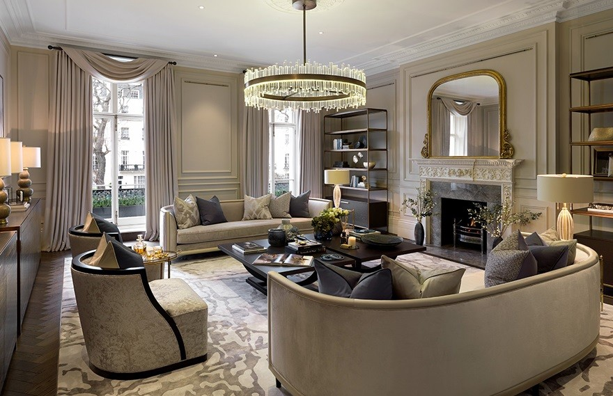 Belgravia Townhouse,Luxury  Quality of the Space