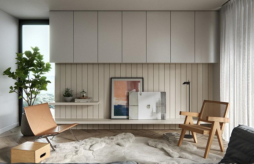 Black Cube Archviz | Modern Apartment
