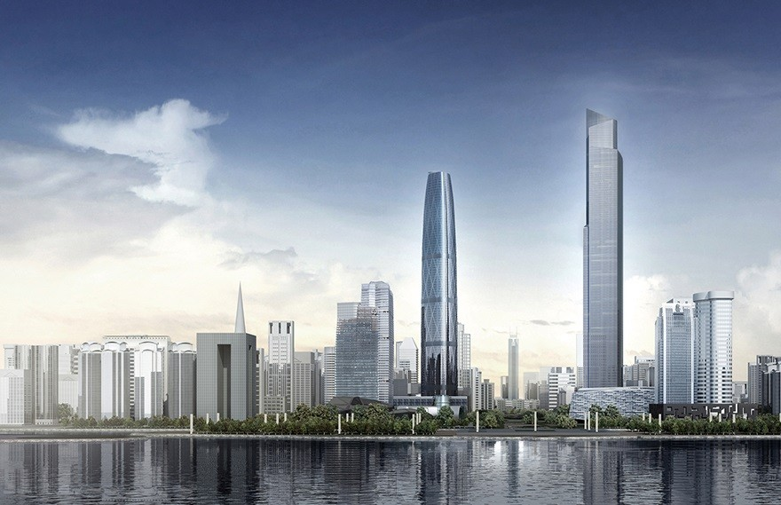 KPF & Yabu Pushelberg | Rosewood Guangzhou,The Tallest Hotel in China