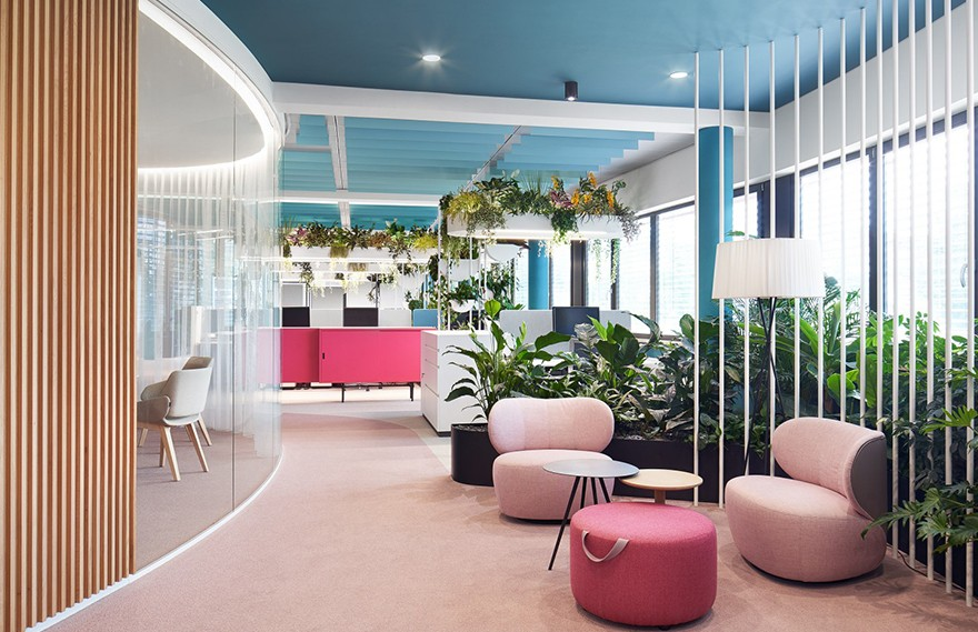 Ippolito Fleitz Group | Roman Klis Design Offices , 当代迷人的工作环境