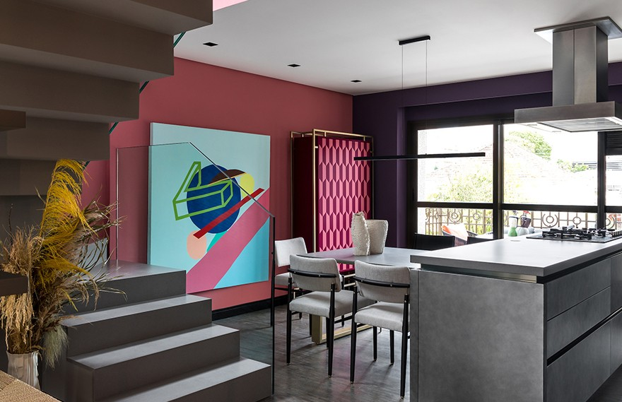 Talita Nogueira Arquitetura | Long House Apartment