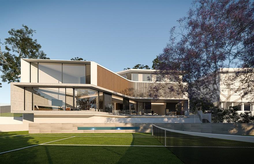 Joe Adsett | Canopy , 精致奢华的现代住宅