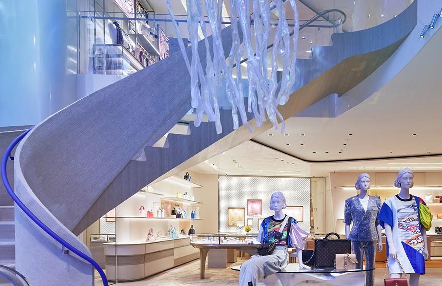 Jun Aoki + Peter Marino | Louis Vuitton Ginza Namiki