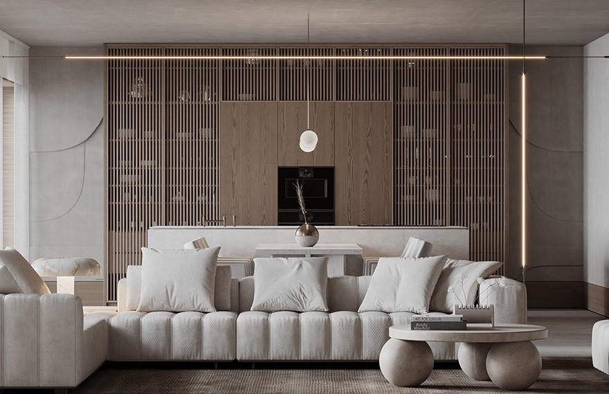 Ann Kaznoha | Line Apartment