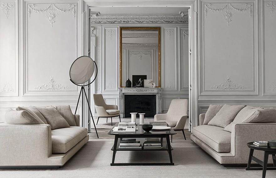 Antonio Citterio | Paris House , 永恒简约的优雅住宅