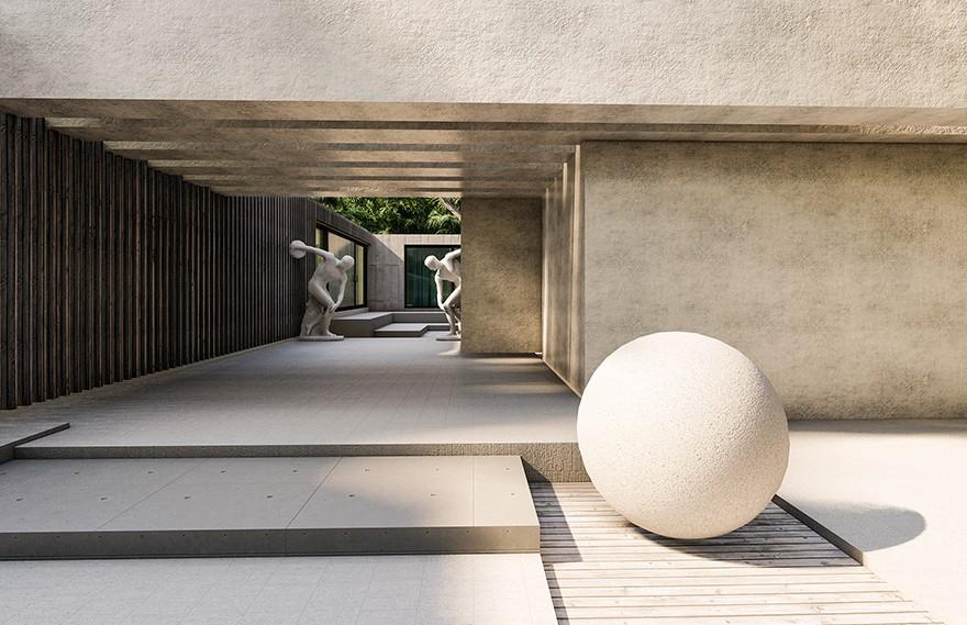 DAUD Architecture | Home Statue , 埃及独特艺术住宅