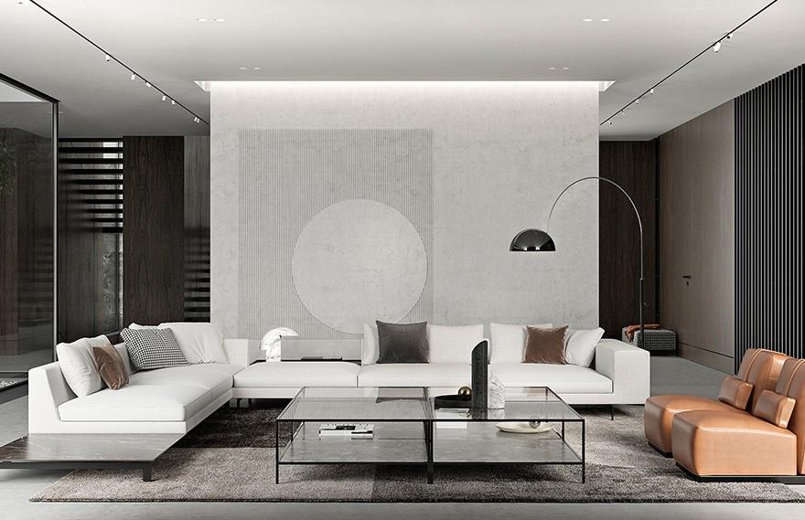 Chub Architects | Chub FF , 极简轻奢住宅