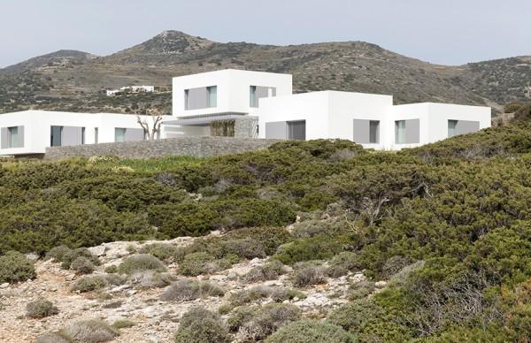 Paros House I , 出神入化的建筑理念