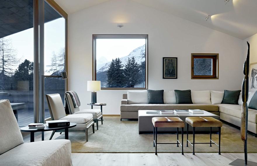 Snow Capped St Moritz