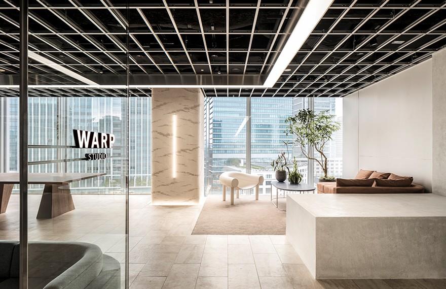 Warp Studio | I IN , 现代新型独特的办公空间