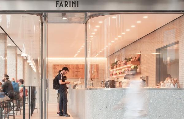 Farini Bakery & Café , 当代优雅的装饰细节